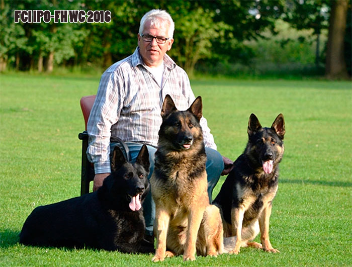 Frans Jansen -  President of the FCI Utility Dogs Commission